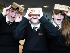 Pupils go 'Google-y eyed' for immersive learning