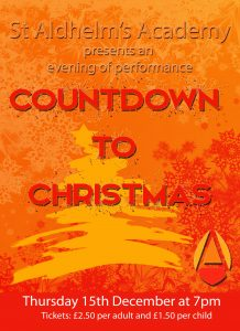 Countdown to Christmas flyer