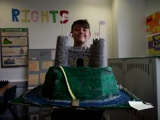 Yr 7s do battle in castle competition