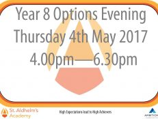 Year 8 Options Evening