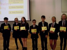Castle competition winners celebrated