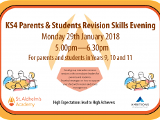 KS4 Revision Skills Evening 29.1.18