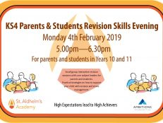 KS4 Revision Skills Evening – 4.2.19
