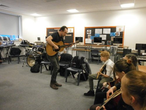 Orchestral project boosts pupils' performance skills