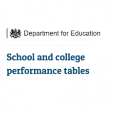 DfE Performance Tables