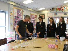 Yr 9s get creative in 3D art workshop